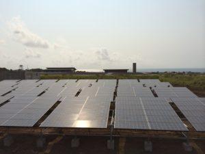 Solar Micro Grid Panels Annobon EG