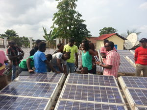 Solar Micro Grid Learning Annobon Island